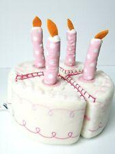 Pottery Barn Kids PBK Birthday Cake Set Felt Plush Retired