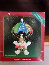American Greetings Dropping In For Christmas 2000 Ornament EUC
