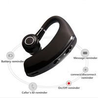 V9 Handfree Business Wireless Bluetooth 4.1 Headset With Mic Voice Control New