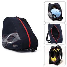 Portable Ice Ski Snowboard Boots Bag Skate Shoes Helmet Carrier Shoulder Pack