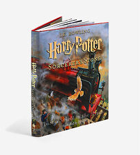 Harry Potter and the Sorcerer's Stone Jim Kay Illustrated Edition Hardcover Book