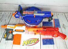 3x NERF GUNS BUNDLE HAIL-FIRE RECON MK II & BARREL BREAK IX-2 +30 DARTS