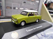 TRABANT Trabbi 601 DDR grün green Limousine Sonderpreis IXO Altaya 1:43