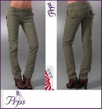 PRPS Japan Cachi Verde Pantaloni Con Tasconi Pantaloni > W29/L31 RRP £ 345.00