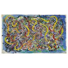 Hendrik Grise Abstract Expressionist Pattern Painting