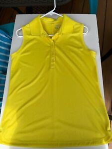 Nike Dri-Fit Ladies sleeveless golf shirt   large