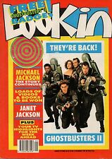 Ghostbusters II Cast on Look-In Magazine Cover 2 December 1989     Janet Jackson