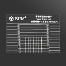 Hi-Fi Tonearm VTA & Cartridge Azimuth Alignment Ruler Headshell Alignment Block