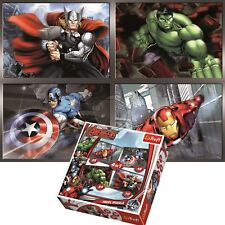 Official Trefl Marvel Avengers 4 in 1 Jigsaw Puzzle