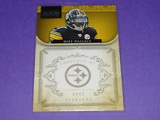 2010 National Treasures MIKE WALLACE #119 Premium SP/99 Steelers VIKINGS Rebels