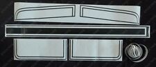 HQ GTS Stripe Kit Sedan Coupe Decals/Paint Mask Stencil Stickers - Holden