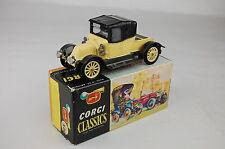 "Corgi #9032 1910 Renault 12/16 England 3 7/8"" Long 1965-1969 Near Mint With Box"