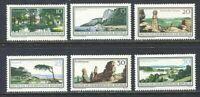 31421) DDR 1966 MNH National Parks 6v. Scott #831/36