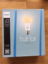 New / Neuf / Philips Hue Lux LED Lampe e27 starter avec / with / mit Bridge 1.0