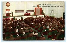 Hall of Industrial Education National Cash Register Co. Dayton OH Postcard A6