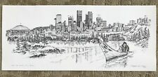 """Christopher Paul Bollen """" And The Winds Still Blow """" Seattle Print"""