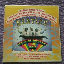 The Beatles Magical Mystery Tour Vinyl LP Record Album -- Green Apple Label