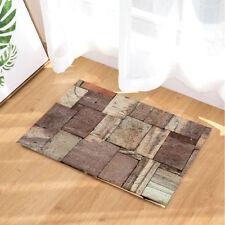 Tile Pattern Of Neatly Stone Slabs Rug Carpet Bedroom Bathroom Mat Doormat