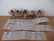 Satz ZBA Im Tal der Trapper und Indianer 1998 Beipackzettel BRD ab 1993