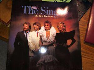 ABBA (Vinyle LP, 1973, Set de 2 Disques,.PRODUIT PAR V.OGUE.