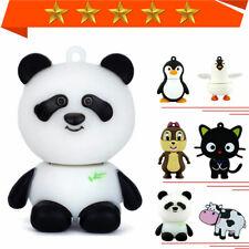 USB Flash Drive Pendrive Panda Cow Penguin Cat-Animal Memory Stick 1MB-64GB lot