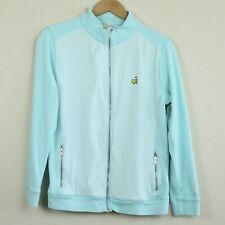 FLAWS Womens Peter Millar Augusta Masters Golf Full Zip Pima Cotton Full Zip M