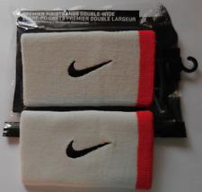 Nike Dri-Fit Premier Dw Wristbands White/Hot Lava/Black Set of 2