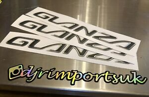 Glanza V Front Badge 98/99 Spec Toyota Starlet Turbo Emblem Replacement Sticker