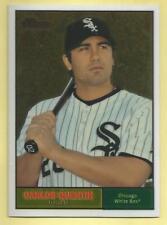 2010 Topps Chrome Baseball Carlos Quentin Heritage Chrome White Sox 1186/1961