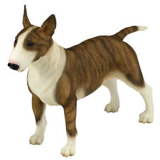 "Bull Terrier Dog Figurine Statue 5.5"" Long Polystone New In Box!"