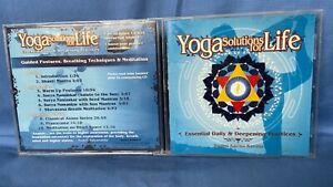 yoga solutions for life CD swami karma karuna - posture, breathing, meditation.
