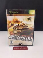 Battlefield 2 Modern Combat Microsoft Xbox Video Game Complete