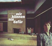 MORITZ KRÄMER - WIR KÖNNEN NIX DAFÜR +CD, LIMITIERTE AUFLAGE  VINYL LP+CD NEU