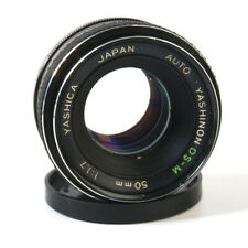 Yashica Auto Yashinon DS-M 1:1.7 50mm Lens - For M42 Screw Mount