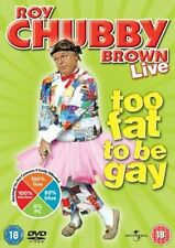 Roy Chubby Brown Too Fat to Be Gay Live 5050582720709 DVD Region 2
