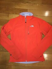 North Face Women's Apex Bionic Softshell Jacket Spicy Orange XS Texas Clemson
