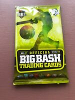 Offical Big Bash Cricket Trading Cards Sealed Pack