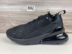 NIKE Women's Air Max 270 Triple Black   size 9, Men's 7.5   AH6789 006 NO BOX