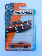 2017 Matchbox '71 Pontiac Firebird Formula 25 of 125 orange