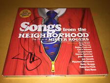 MISTER ROGERS NEIGHBORHOOD cd SIGNED JON SECADA amy grant BJ THOMAS donna summer