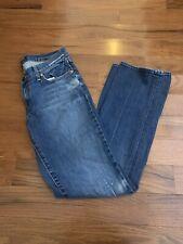 Arden B. Distressed Straight Leg Jeans 10