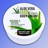 ALOE VERA Care Body Cream - 200ml - Feuchtigkeitscreme Körpercreme Pflege Creme