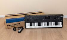 Kurzweil Forte 7 76-key Stage Piano Digital Synthesizer Near Mint w/ Box, Pedal