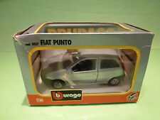BBURAGO 0127 FIAT PUNTO - SILVER GREY 1:24 - EXCELLENT IN BOX
