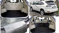 3pc modular rubber boot liner load mat bumper protector Lexus RX 300 450h 03-08