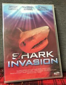 Shark Invasion DVD Nuovo Sigillato Nemec Angel Bernsen di Danny Lerner