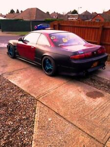 Rear Overfernders +50mm to fit a Nissan 200sx S14 S14a