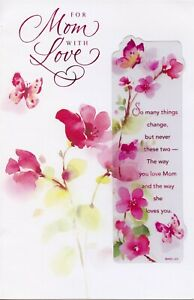 American Greetings Mother's Day Card: Love Is Wherever You Are...You're So Loved