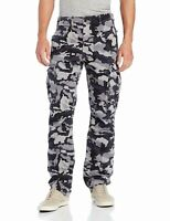 Levis Relaxed Fit Ace Cargo Pants Color Dark Grey Camouflage 0019