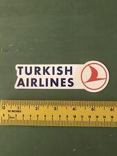 Turkish Airlines Decal/sticker